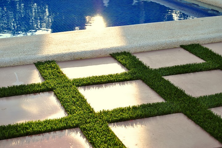 artificial grass for swimming pool