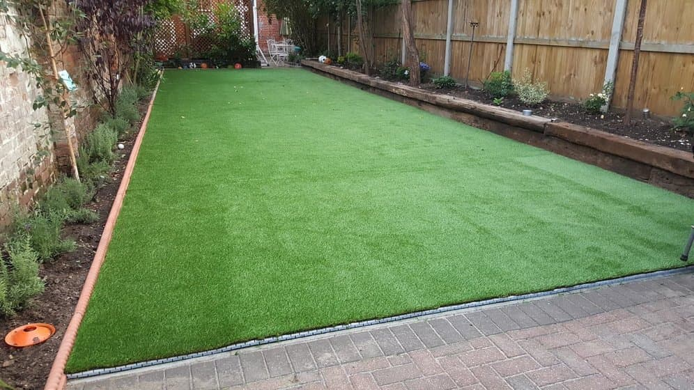 Artificial Grass on Concrete - Step 4